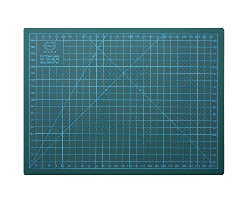 DAFA Professional 18'' x 12'' Self-Healing, Double-Sided Cutting Mat, Rotary Blade Compatible, (36x24), (24x18), (18x12), (12x9) Sizes, for Sewing, Quilting, Arts & Crafts by DAFA