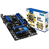 Msi H97 PC Mate ATX 1150 Scheda Madre, Nero/Antracite