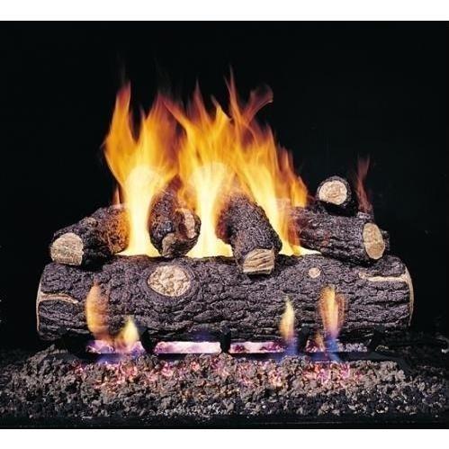 Peterson Gas Logs 24-inch Golden Oak Designer Plus Logs Only No Burner