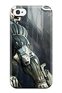 New DPatrick Super Strong 2011 Crysis 2 Game Tpu Case Cover For Iphone 4/4s