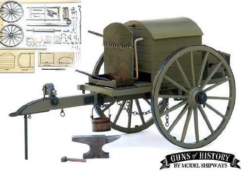 Guns Of History Civil War Battery Forge Caisson Ammunition Carriage 1:16 Scale - Model expo