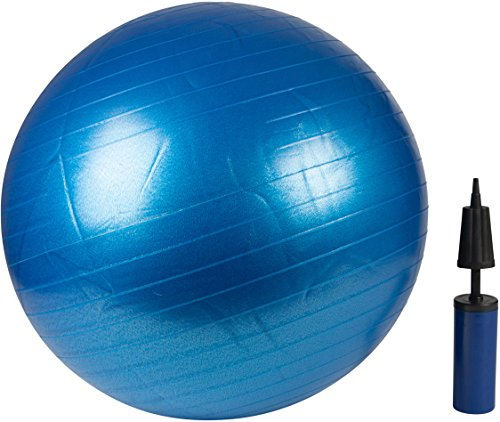 Trademark Innovations Exercise Ball with Pump