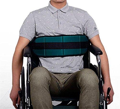 Adjustable Wheelchair Belt Skil-Care Soft Cushion Belt for Bed Wheelchair Safety Harness (Adjustable Safety Belt)