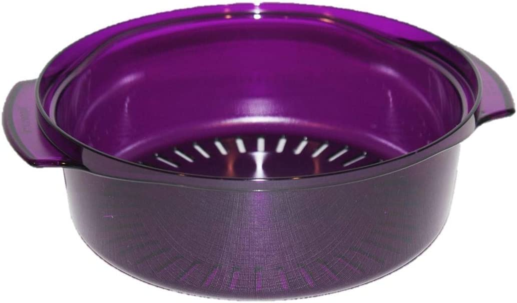 Tupperware Colander for the TupperWave Microwave Stack Cooker Set Violet Purple 2195
