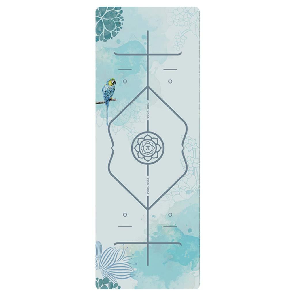 J Tapis de Yoga épaississement élargissant Tapis de Fitness Homme débutant sous-Tapis d'impression Tapis de Yoga Maison Femme WXFO (Couleur   I, Taille   9mm) 7mm