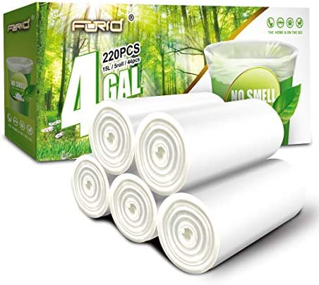 FORID Clear Small Trash Bags product image