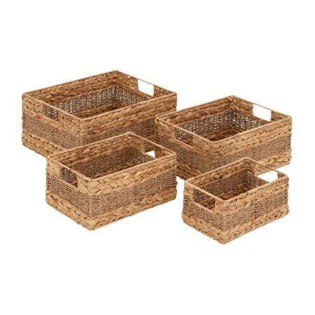 Styled Fascinating Sea Grass Basket - Set Of 4 by Basket Bins