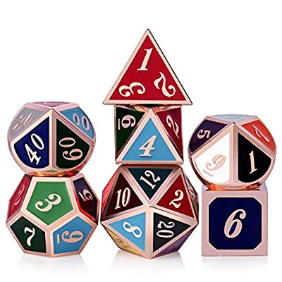 Metal dice Set Two