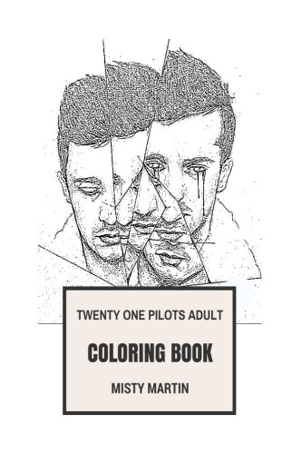 Twenty One Pilots Adult Coloring Book: Grammy Award Rap Rock Duo, Prodigy Tyler Joseph and Josh Dun Inspired Adult Coloring Book (Twenty One Pilots (Prodigy Duo)