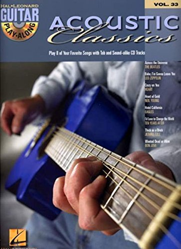 uitar Play-Along Volume 33 (Guitar Play-Along S) (Acoustic Rock Songbook)