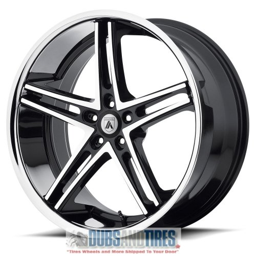 Asanti Black ABL-7 20x10 Machined Black Wheel / Rim 5x112 wi
