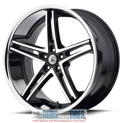 abl 7 20x10 machined black wheel rim
