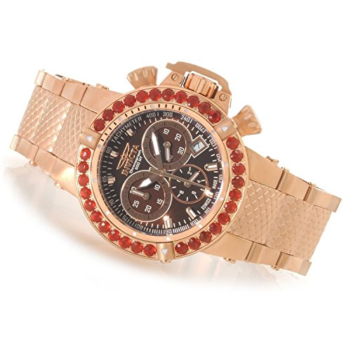 Invicta 14771 Women's Subaqua Noma III Swiss Chronograph Fire Opal Bezel Bracelet Watch