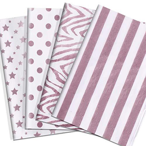 PRESKBOO Glitter Tissue Paper 28