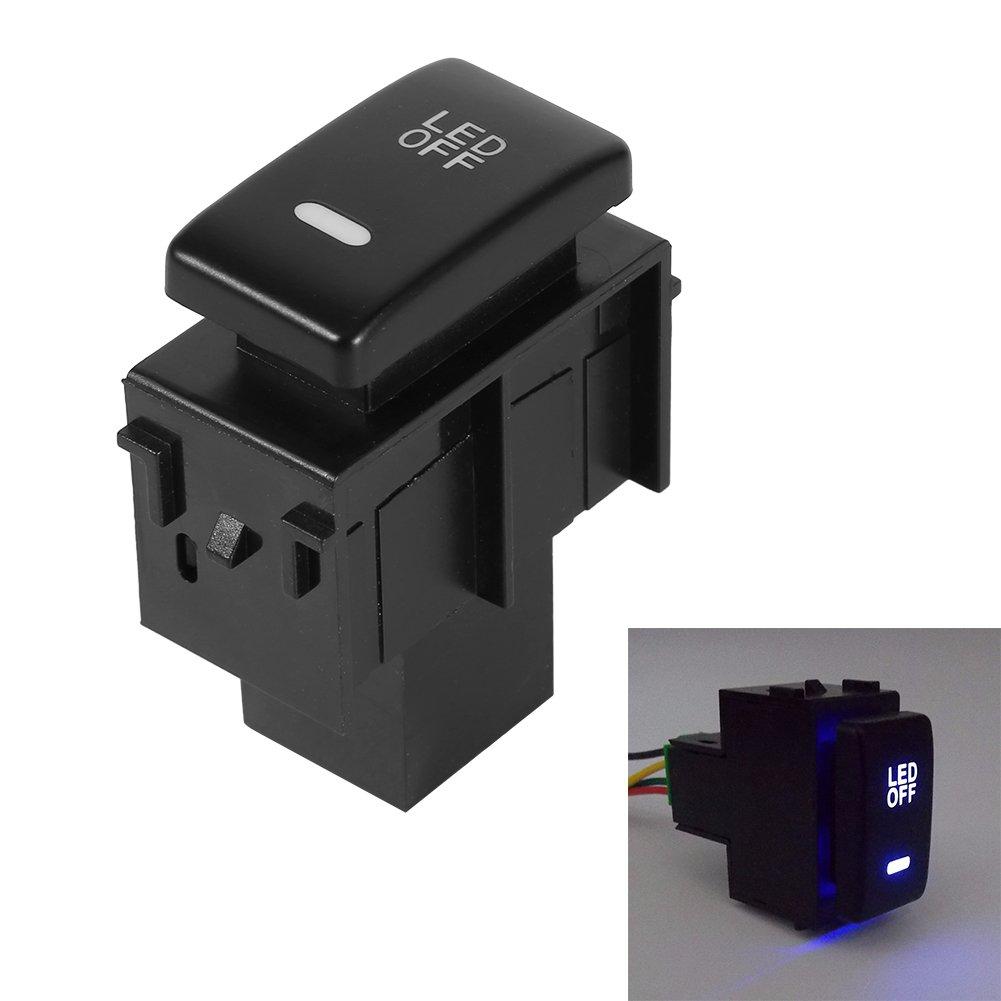 Auto Nebelscheinwerfer Scheinwerferschalter Schalter f/ür die Modifikation der Nebelscheinwerfer 12V Nebelscheinwerfer Druckschalter Wippschalter Wippschalter Nebelscheinwerfer f/ür Auto