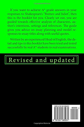 Romeo And Juliet A Guide From Ace Notes Des Jones   Romeo And Juliet A Guide From Ace Notes Des Jones   Amazoncom Books