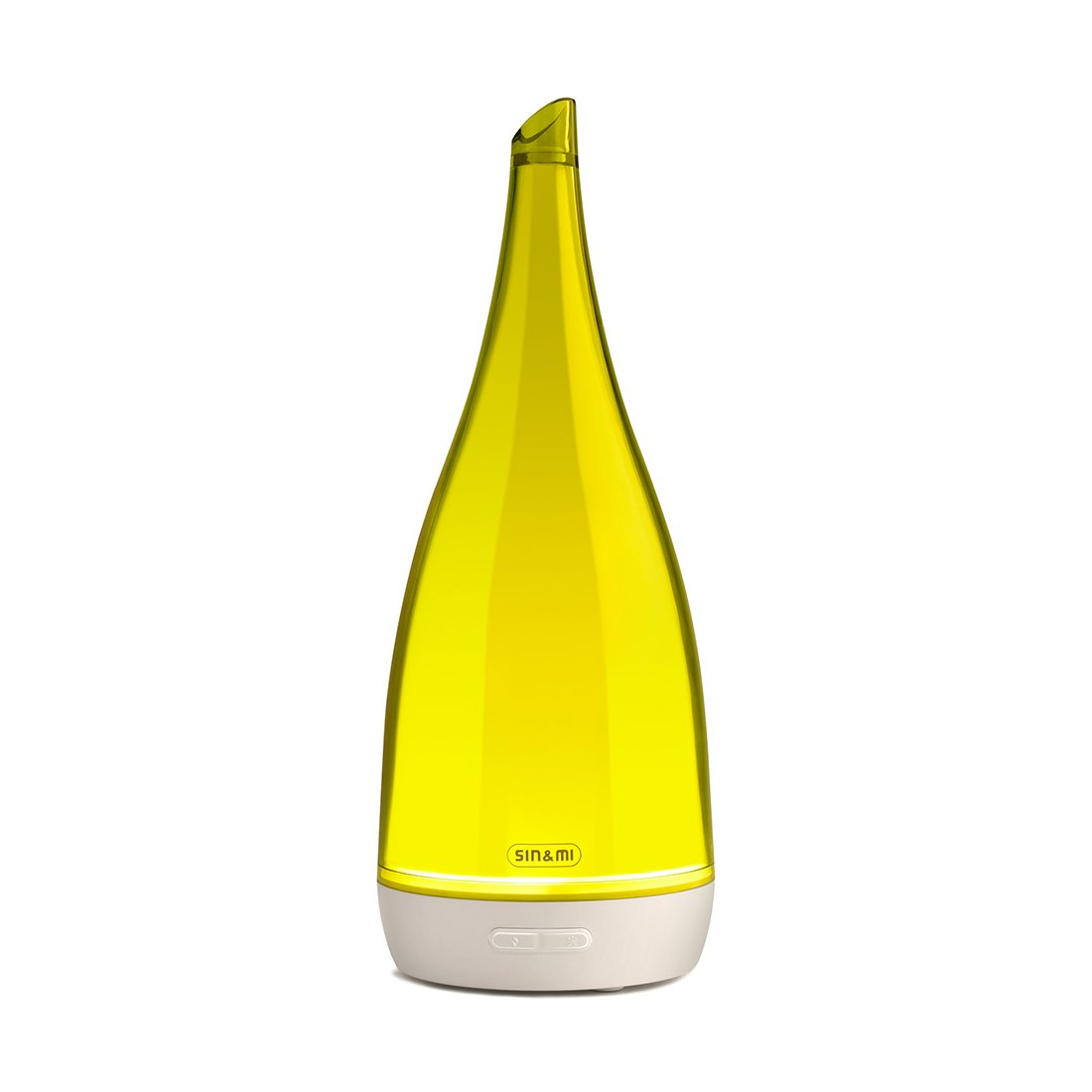 Getek Oil Diffuser, Cool Mist Humidifier Ultrasonic Aroma Essential Oil Diffuser for Office, Home, Bedroom, Baby Room, Yoga, Spa (Light Green)