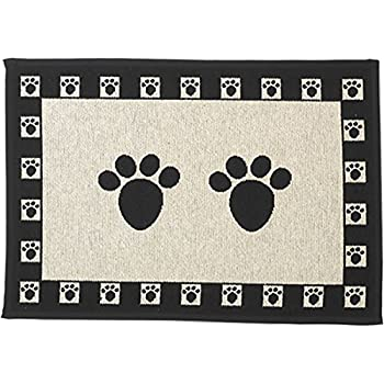 PetRageous Paws Tapestry Mat Feeder, Large/28