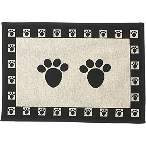(PetRageous Paws Tapestry Mat Feeder, Large/28