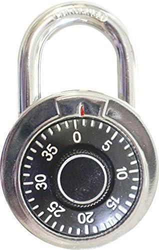 SAFEGUARD 4 Digit Combination Padlock: TZ-14900 by TOOLUSA