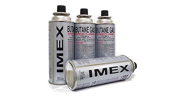 Cartuchos de gas de Imex: Amazon.es: Jardín