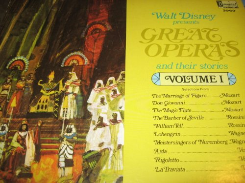 Walt Disney Presents Great Operas and Their Stories: Vol. 1 by Disneyland