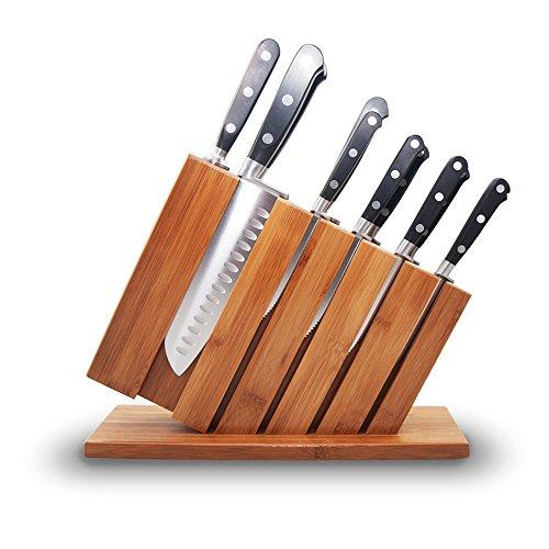 Premium Stainless Kitchen Bamboo Sharpener product image