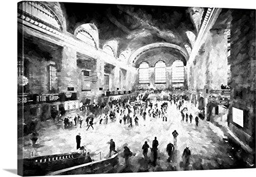 Grand Central Terminal Nyc (Canvas On Demand Philippe Hugonnard Premium Thick-Wrap Canvas Wall Art Print, 24
