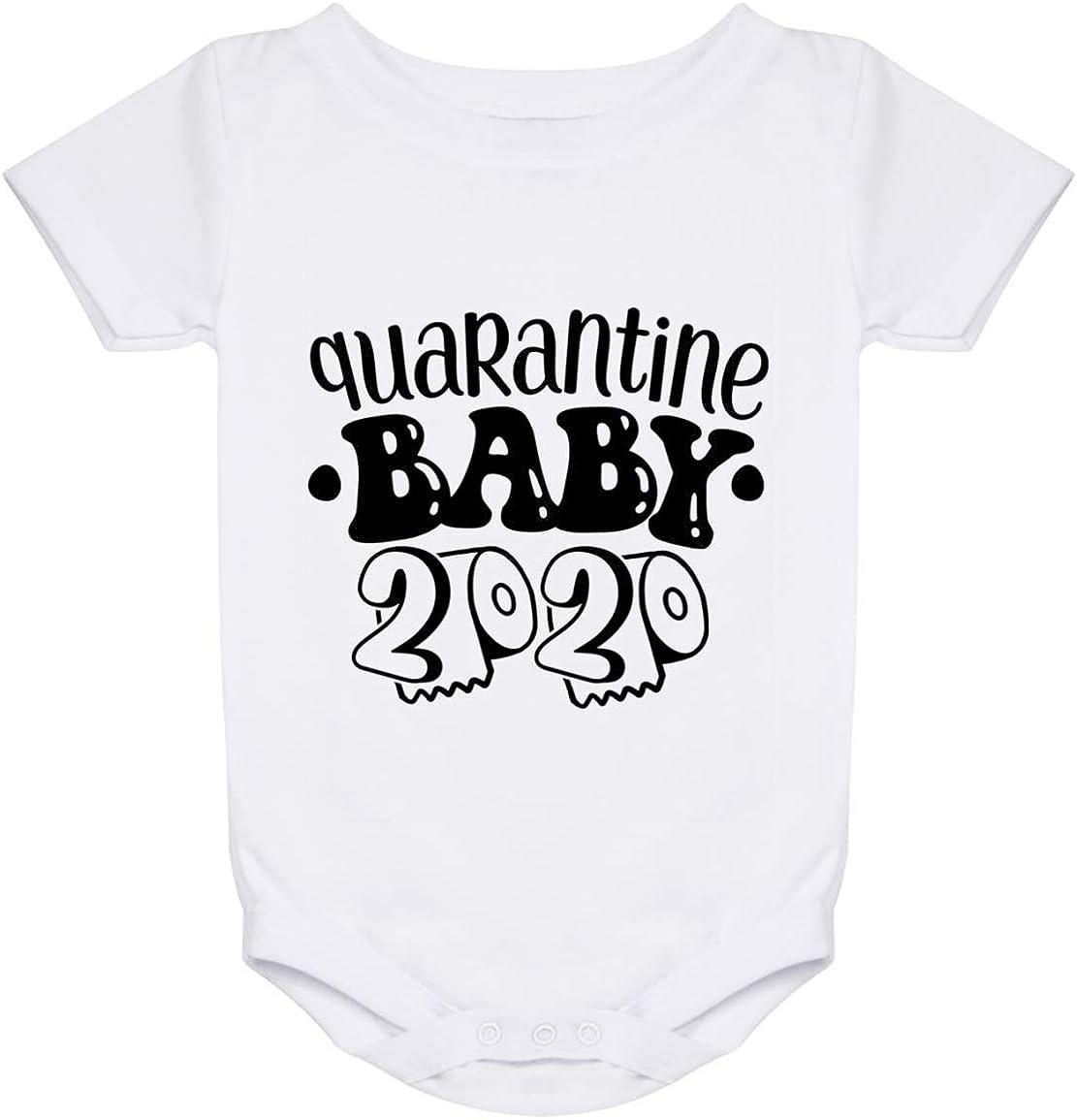 Quarantine Baby Romper Covid Baby Baby Quarantine fail Quarantine baby clothes Quarantine Baby Shirt Covid Baby Shirt Because Quarantine