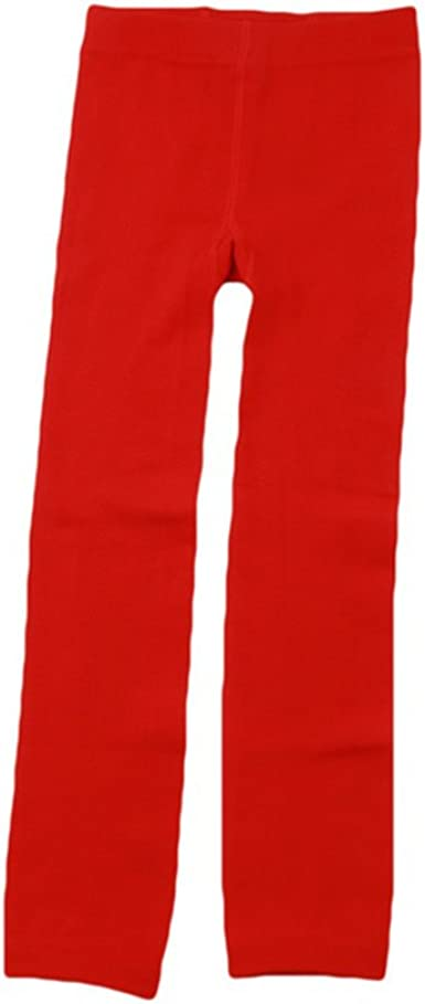 Girls Winter Warm Thick School Tights Plain Pack Age 5-12 Years