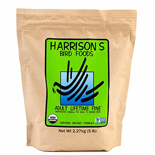 Harrison's Adult Lifetime Fine 5lb … by Harrison's Bird Foods