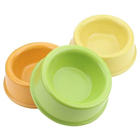 Cupcinu Cuenco de Mascota Cuenco para Perros Cuenco de Agua para Gatos Alimentador de plástico para