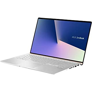 "ASUS 15.6"" ZenBook Intel Whiskey Lake i7-8565U 16GB DDR4 1TB PCIe SSD GeForce GTX 1050 Windows 10 Pro Icicle Silver Ultra Slim Compact FHD Model UX533FD-NS76"