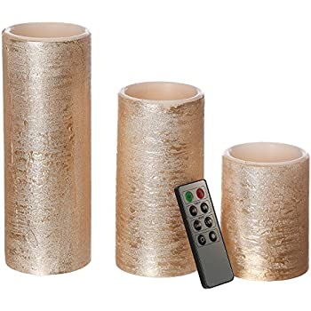 Amazon Com Cypress Home Rose Gold Battery Operated