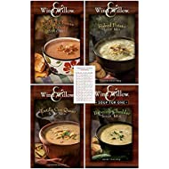 Wind & Willow Soup Sampler: Grilled Cheese, Broccoli Cheddar, Baked Potato and Tortilla con Queso