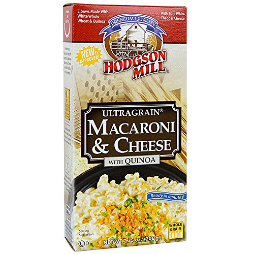 Hodgson Mill Ultragrain Macaroni & Cheese with Quinoa, 7.25 Ounce (Pack of 12) (Packaging May Vary) Wholesome Baking and Cooking Ingredients for Home Cooks and Healthy Meals