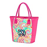 2017 High Fashion Print Beach Cooler 13'' L x 6.5'' W x 11'' H (Summer Paisley)
