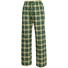 Green and Yellow Check Flannel Tie Cord pants, Unisex Sizes