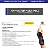 Champion Wrist Support, Universal Fit, Removable