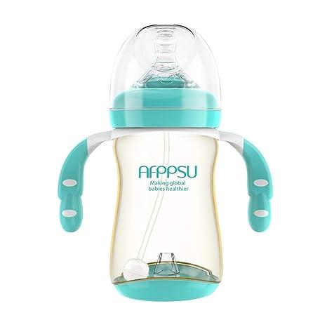 NUAIPPP Biberón Natural Flujo Recién Nacido Resistente A ...