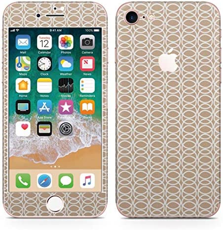igsticker iPhone8 専用 スキンシール 全面スキンシール フル 背面 側面 正面 液晶 ステッカー 保護シール 050655