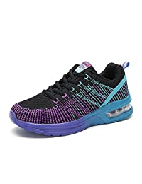 EMMARR Women's Air Cushion Training Running Shoes Breathable Athletic Walking Jogging Sneakers