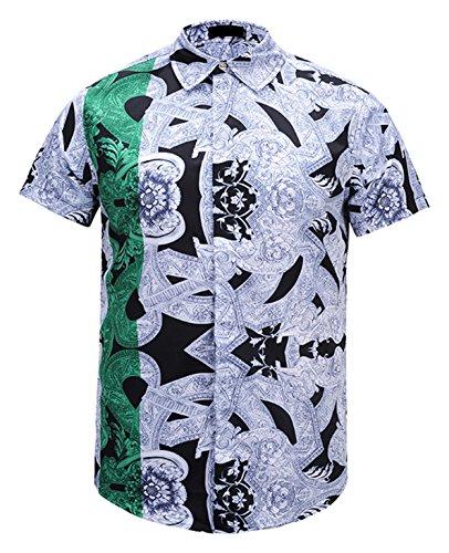 De Y1792 Chemise Soirée Al003 Style Belle Impression Élégant 07 Dress Pizoff Collection1 À Homme Luxury Shirt Design zTBRqR