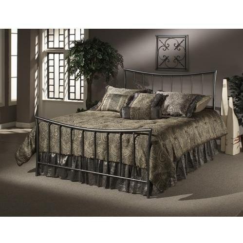 - Hillsdale Furniture 1333BK Edgewood Bed Set, King, Magnesium Pewter