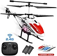 DEERC DE51 Remote Control Helicopter Altitude Hold RC Helicopters with Gyro for Adult Kid Beginner,2.4GHz Airc