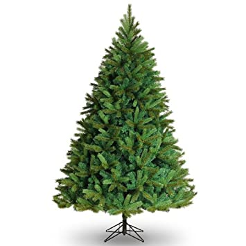 7.5ft Leicester Pine Artificial Christmas Tree: Amazon.co.uk ...