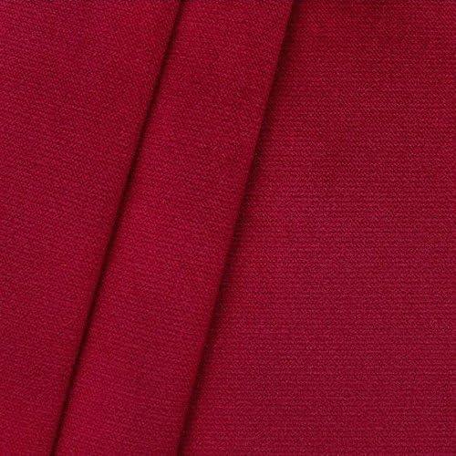 Bezugsstoff Samt rot