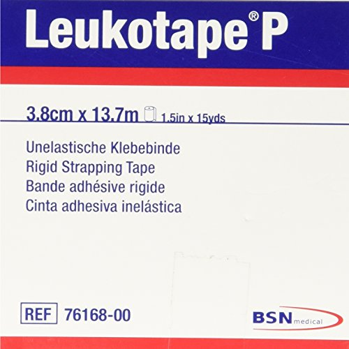 - BSN Medical BEI076168 Leukotape P Sports Tape, 1 1/2 Inch x 15 Yard