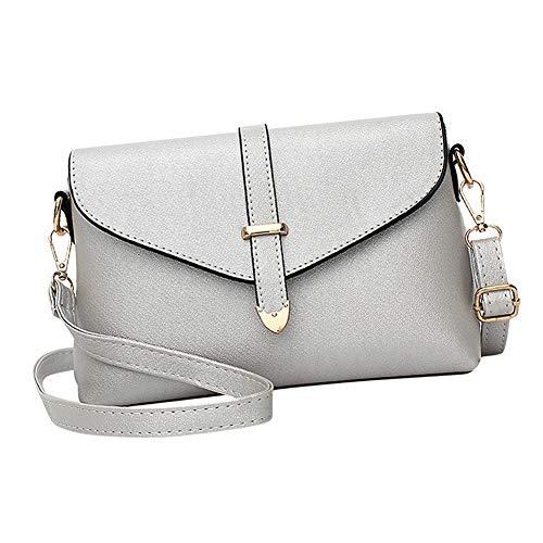 Borsa borsa sintetica a argento borse tracolla tracolla Pelle cinturino tracolla donna e Piccola tracolla Borsa Donna a a a Mini Yudesun Borsa rdfgxwqrn0