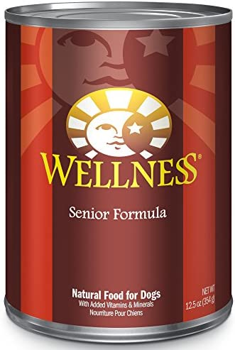 Wellness Complete Health Natural Wet Canned Dog Food Senior Chicken Sweet Potato